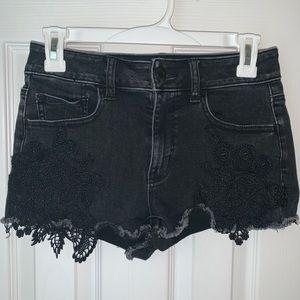 American Eagle Lace Shorts
